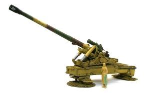 グリレ17 17cmK18カノン砲のウエザリング