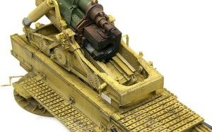 グリレ17 17cmK18カノン砲の仕上げ