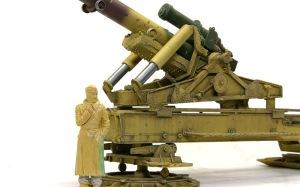 グリレ17 17cmK18カノン砲の組み立て