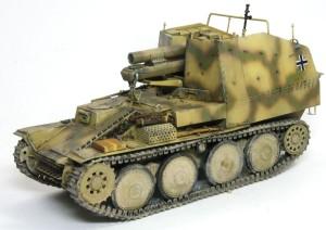 ドイツ・15cm自走重歩兵砲グリレK 1/35 サイバーホビー