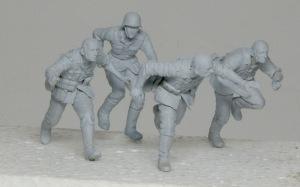ドイツ・通信兵 スターリングラード サフ吹き