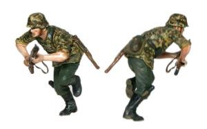 ドイツ・通信兵 スターリングラード1942年 突撃する兵士