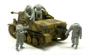 ドイツ・自走砲兵セット 組立てと配置