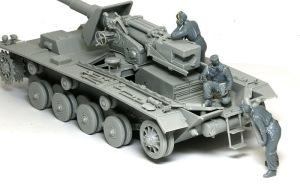 ドイツ・自走砲兵セット レイアウトの確認