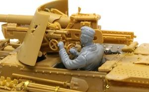 ドイツ・対戦車自走砲兵 砲手の腕のフィッティング