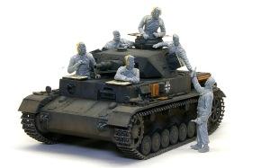 ドイツ・戦車兵 1939~1943年 組み立て