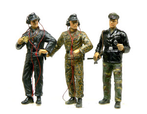 ドイツ武装親衛隊・戦車兵 残り3人
