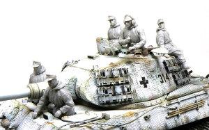 ドイツ戦車兵1943年冬 組立てと配置の確認
