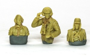 ドイツ戦車兵・雨天/寒冷地 組立て