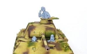 ドイツ戦車兵・雨天/寒冷地 サフ吹き