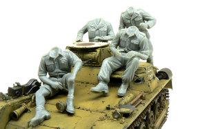 熱帯戦車兵 組立て