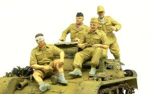 ドイツアフリカ軍団・熱帯戦車兵 塗装完了