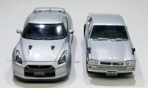 ニッサン・GT-Rとスカイライン2000GT-R