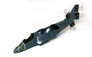AV-8Bハリアー2 胴体の貼り合わせ
