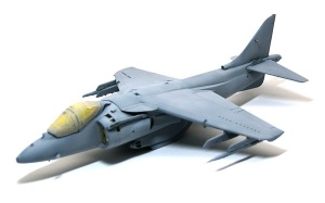 AV-8Bハリアー2 サフ吹き