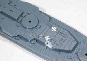 艦載機デッキの改造
