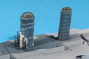 煙突の加工