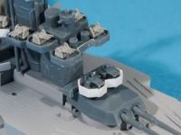 ピットロードの対空砲が無くなったのでキットのパーツを使った
