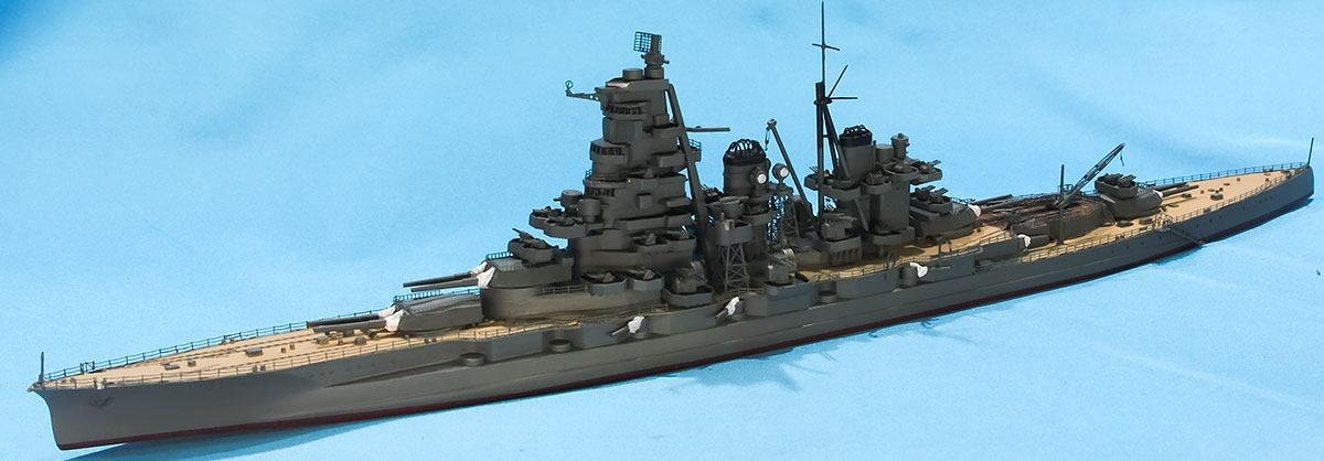戦艦榛名 塗装完了