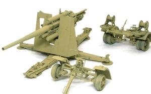 Hell Fire (B) 8.8cm対空砲Flak18の塗り直し