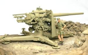Hell Fire (B) 8.8cm対空砲Flak18を置いてみる
