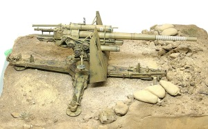 Hell Fire (B) 8.8cm対空砲Flak18をベースに固定