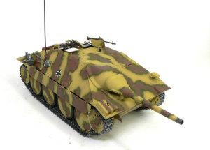 ヘッツァー駆逐戦車 OVMの取り付け、デカール貼り