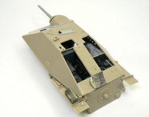 ヘッツァー駆逐戦車 車体外部の組立て