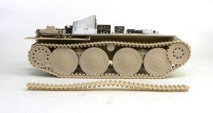 ヘッツァー駆逐戦車 足まわりの組立て