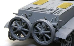 ホイッシュレッケ4b 榴弾砲用の車輪