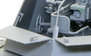 ホイッシュレッケ4b 砲塔装甲板のラッチ