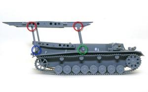 ホイッシュレッケ4b 砲塔積み卸し用クレーン