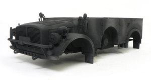 ホルヒ・タイプ1a 黒立ち上げの下塗り