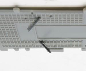 飛行甲板の階段
