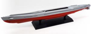 特型潜水艦 伊-400 船体の組立て