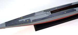 特型潜水艦 伊-400 手すりの穴開けガイド