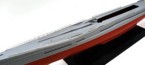特型潜水艦 伊-400 手すりの取り付け