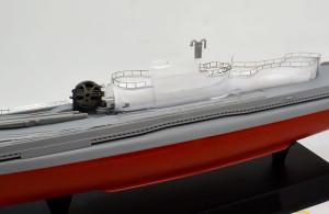 特型潜水艦 伊-400 艦橋の手すり