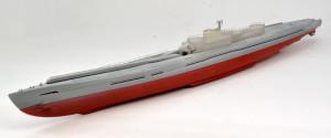 特型潜水艦 伊-400 サフ吹き