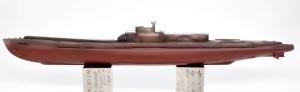 特型潜水艦 伊-400 艦底の塗装