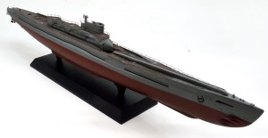 特型潜水艦 伊-400 甲板と船体の塗分け
