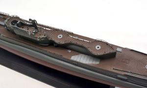 特型潜水艦 伊-400 構造物の塗分け