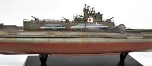 特型潜水艦 伊-400 錆を流す