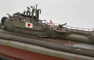 特型潜水艦 伊-400 海軍旗
