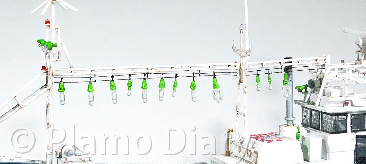 前の集魚灯