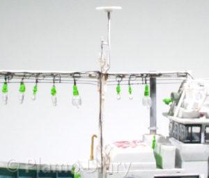 集魚灯の配線