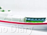 船体の塗装と船室の組み立て