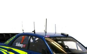 スバル・インプレッサWRC2004 アンテナ