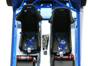 スバル・インプレッサWRC2004 シートベルトの製作