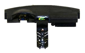 スバル・インプレッサWRC2004  センターコンソールのディテールアップ